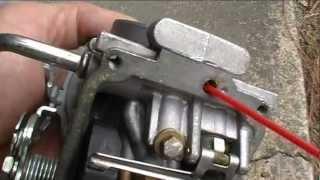 07 Yamaha Virago 250 Carb Cleanout