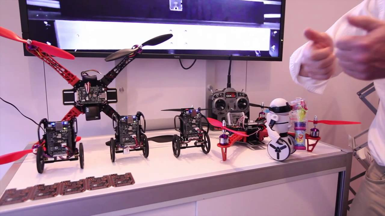 Advancements In Robotics Using Beaglebone Black Youtube