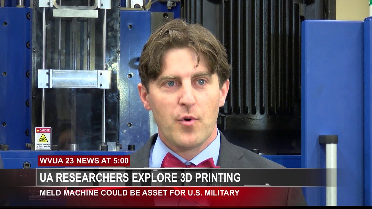 ALABAMA EXPLORING 3D PRINTING FOR MILITARY PURPOSES