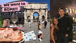 I WENT TO ROME WITH MY BOYFRIEND *COUPLES HOLIDAY VLOG* | Fi Markey