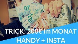 SCHOCKIEREND: SCHNELL und EINFACH 200€ im Monat mit Instagram verdienen!