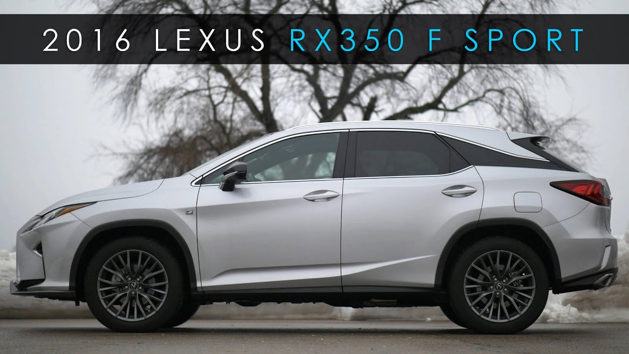 Review 2016 Lexus RX350 F Sport