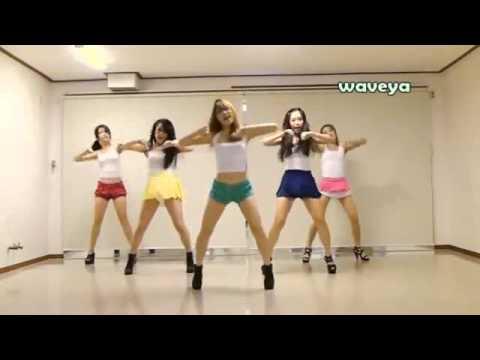 สาวเกาหลีเต้น กังนัมสไตล์