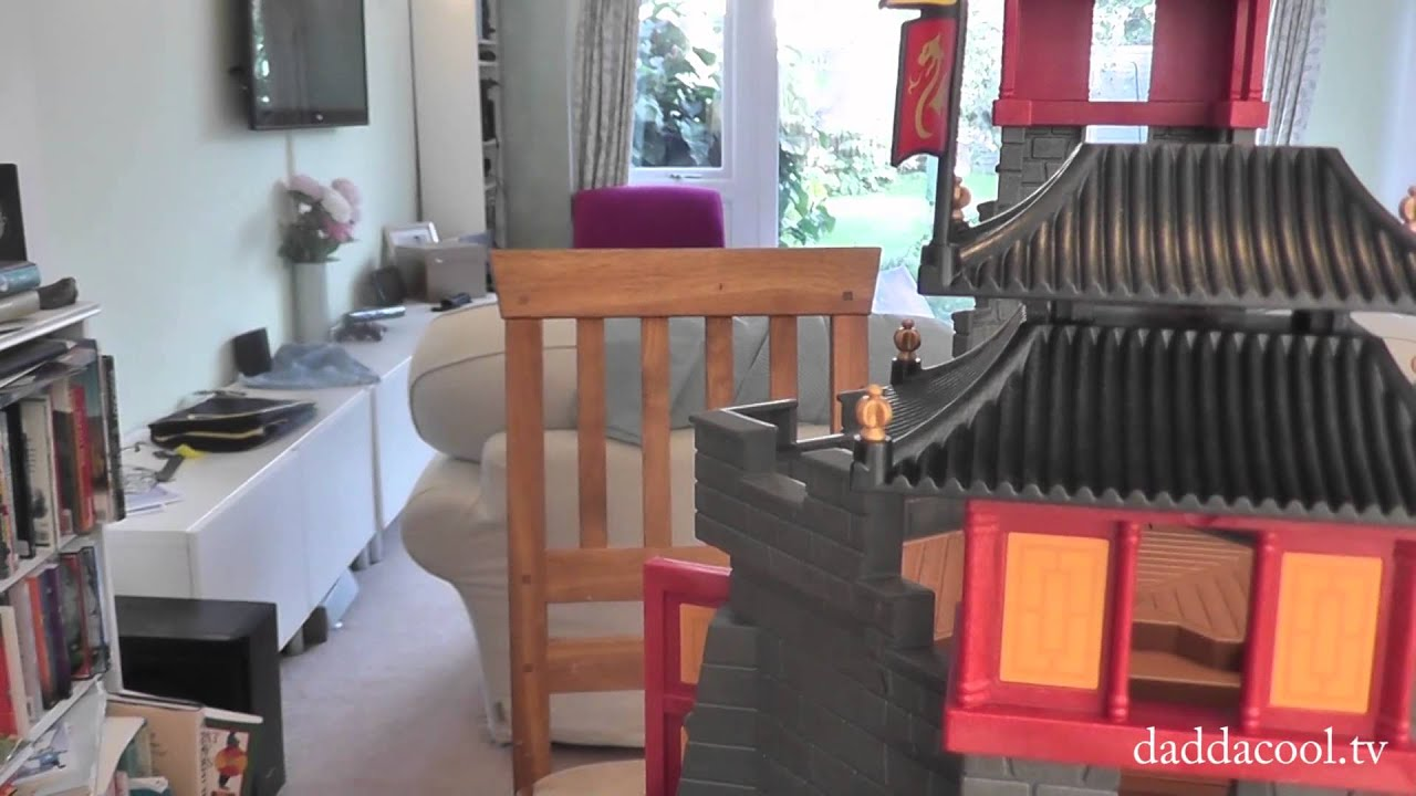 playmobil dragons great asian castle 5479 - youtube