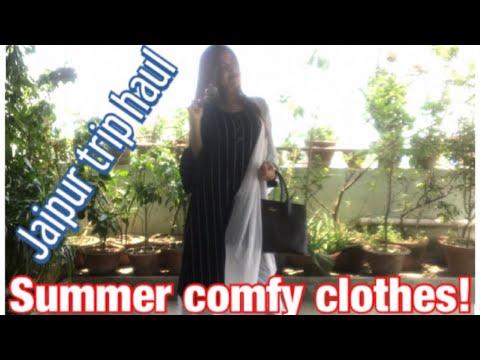 SUMMER outfit ideas | Clothing HAUL | Kolkata