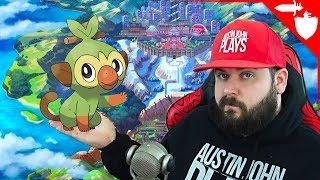 I Love Grookey! Pokemon Sword & Shield Trailer Reaction