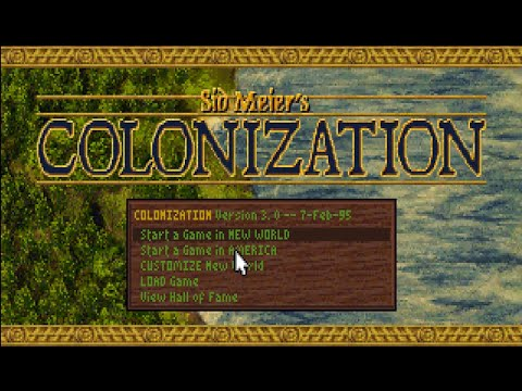 Sid Meier's Colonization (1994) English Play Through: Episode 1 |