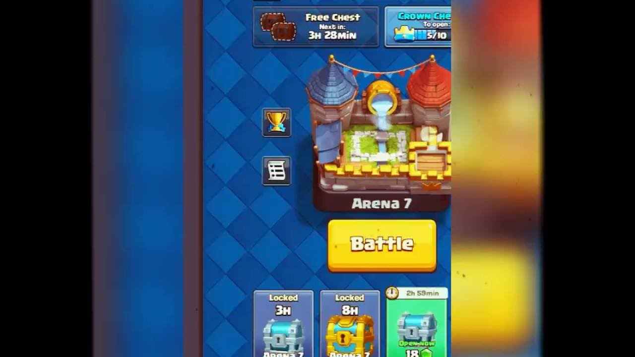 Clash Royale New Orignal Giant Lighting Deck