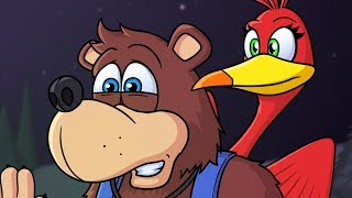 BANJO-KAZOOIE JOIN SMASH ◄◄ ANIMATION REWIND | #TheJamCave