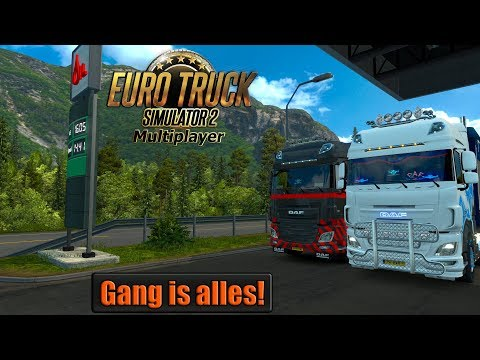 Gang is alles! Euro Truck Simulator 2 MP {G29}