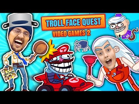 SUPER TROLLARIO BROTHERS! Hilarious Trollface Quest Video Ga