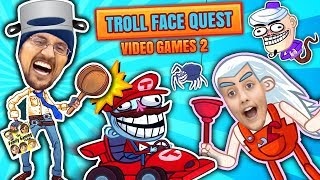 SUPER TROLLARIO BROTHERS! Hilarious Trollface Quest Video Game…