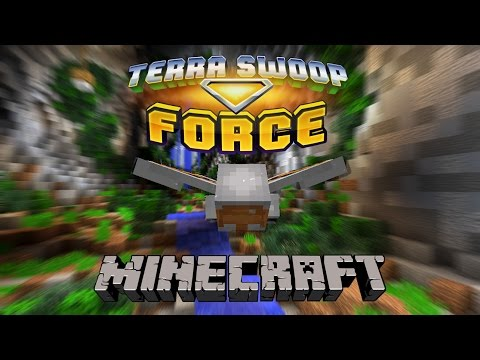 Minecraft Elytra Adventure [ITA] - Terra Swoop Force - IN VOLO VERSO IL CENTRO DELLA TERRA