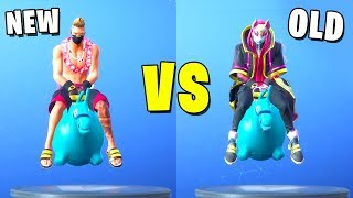 New Summer Drift vs Old Season 5 Drift [Fortnite Skins Battle]