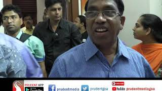 SUBHASH RESIGNS AS EDC CHAIRMAN, RESIGNATION NOT ACCEPTED YET _Prudent Media Goa