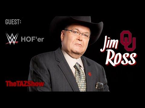 WWE Hall Of Famer Good Ole Jim Ross - The Taz Show (June 8th, 2017)