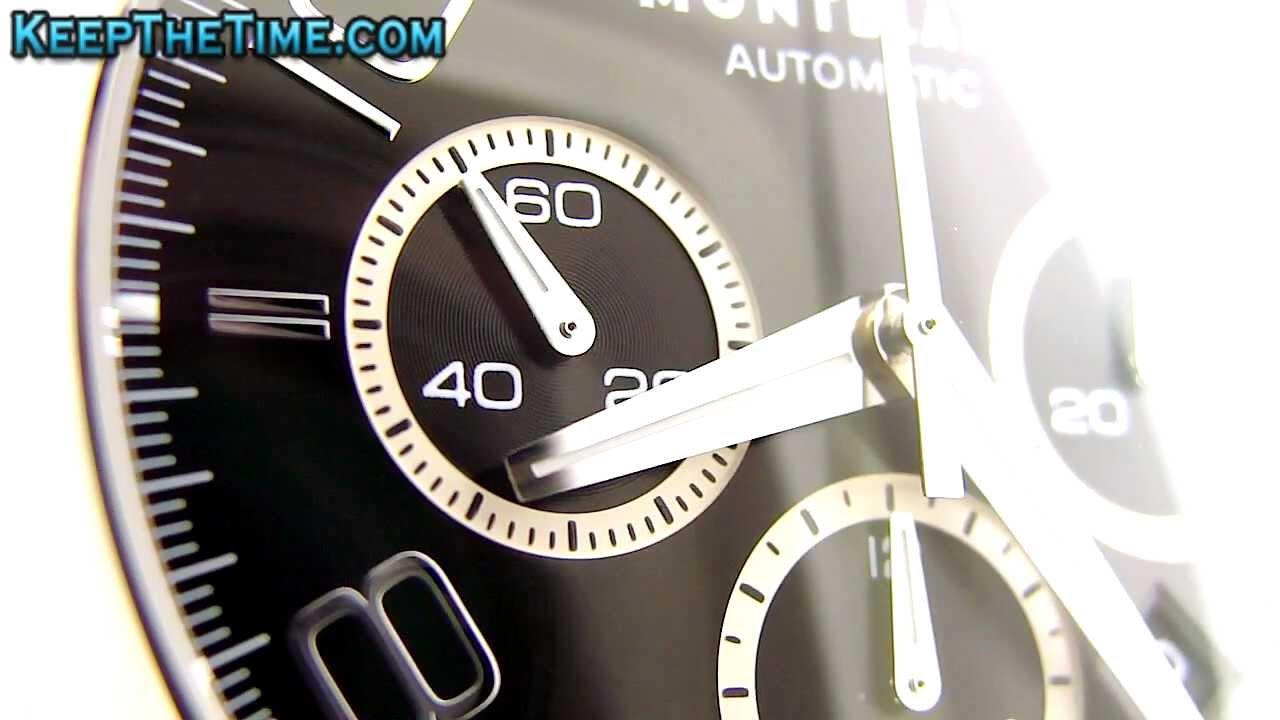 9b80f87ca74f2 Montblanc Timewalker XL Chronograph (Caliber 7753) - YouTube