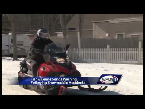 WATCH: Fish And Game Snowmobile Trails Warning