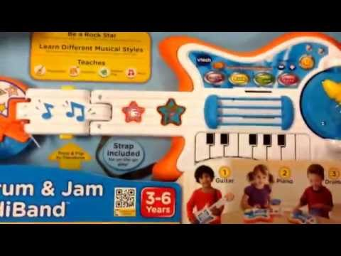 VTECH Strum and Jam KidiBand 3in1 Electric Music Toy  Toy Review