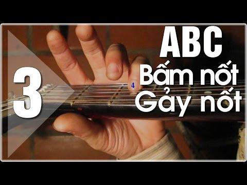 Học đàn Guitar ABC cơ bản - Học các nốt trên đàn guitar
