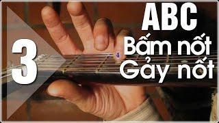 Học đàn Guitar ABC cơ bản (3) các nốt trên đàn guitar