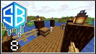 Minecraft - SITTING ON THE BRIDGE DOCK ! Ep.8 - SOURCEBLOCK SMP ( Lets Play )