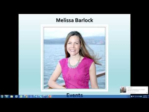 Asia Pacific call with Melissa Barlock on Events!
