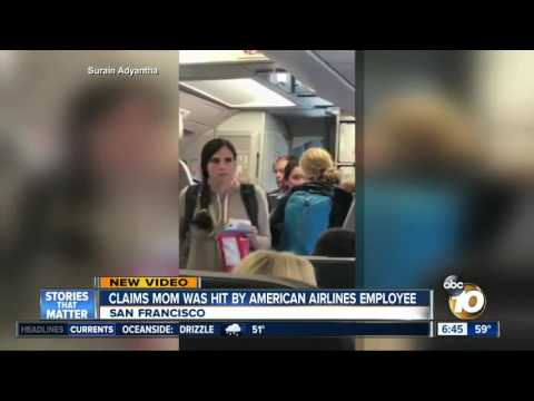 Mom left in tears after American Airlines incident