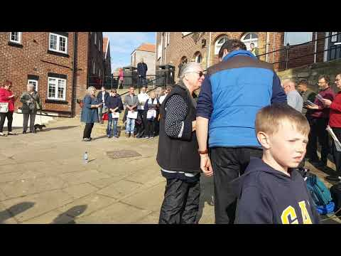 Fylingdales Folk Choir At The Fish And Ships Festival In Whitby 18/5/19