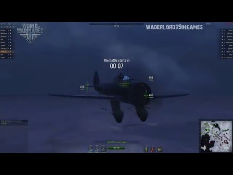 World of Warplanes - 1.9.2 Test Server gameplay - Boeing P-26 Peashooter