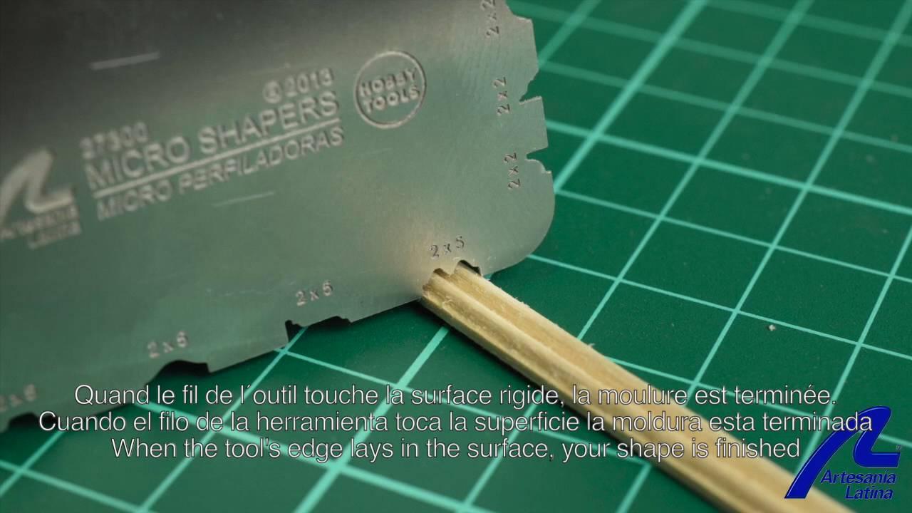 Modeling Artesan/ía Latina Micro Template for Wooden Simulation