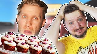 BAKERY CAKE WITH COMKEAN! -English Roblox: Bakers Valley