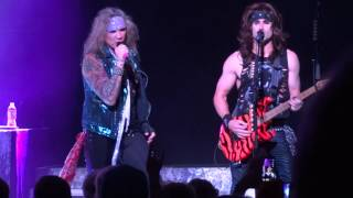 Steel Panther - Pussywhipped - LIVE Fox Theater Detroit Michigan 10/19/14