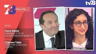 7/8 Politique – Emission du 23 mars 2018 avec P. Bédier (LR) et C. Taleb (LREM)