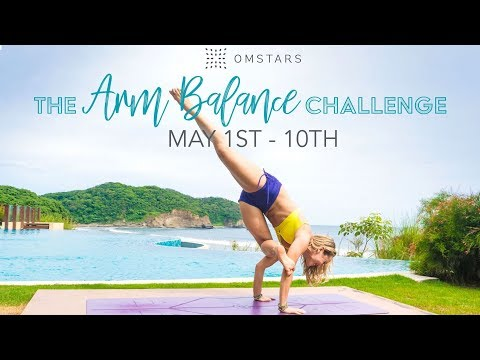 FREE Yoga Challenge! Practice Yoga, Save Puppies, Arm Balance Basics with Kino