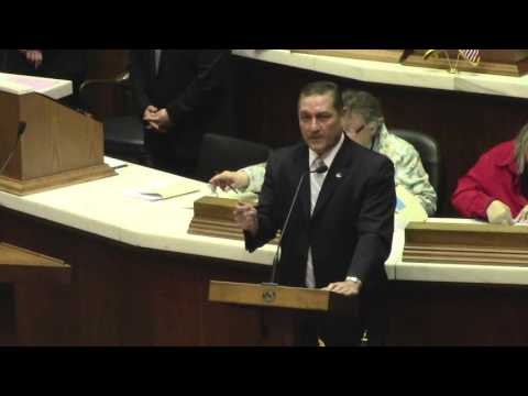 Rep. Terry Goodin asks Indiana legislature to throw out ISTEP test and put dollars in the classroom