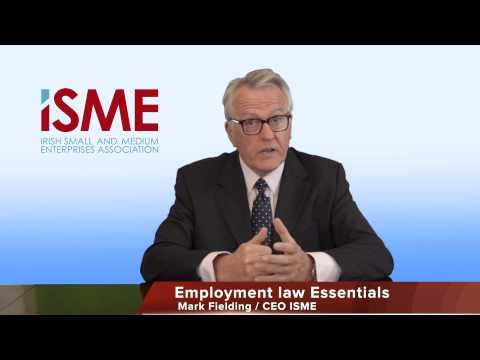 ISME Advice - Employment Law Essentials