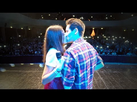 WE KISS ON STAGE! *emotional*