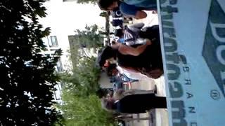 Vermin Supreme Glitter Bombs at 2012 DNC