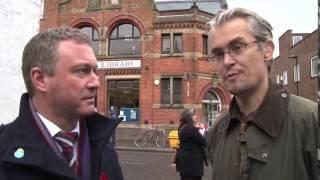 Robert Gibson talks to Steve Reed MP about #SaveUNLibrary