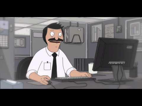Bob dreams about an office job - Bob's Burgers