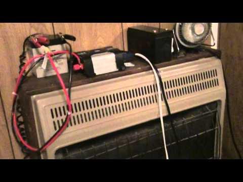12v Batteries And 400 Watt Inverter