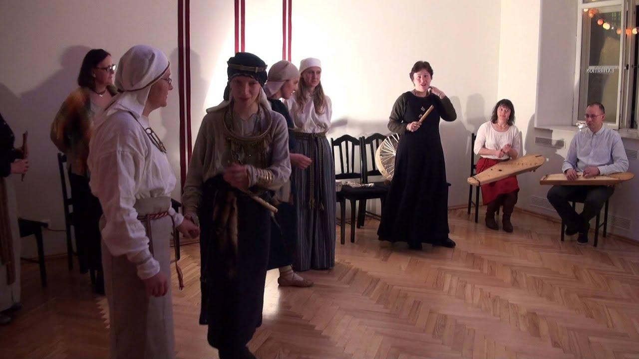 """Rīgas folkloras kopu sadziedāšanās """"Vai tādēļ nedziedāju?"""" 11.11.2015"""