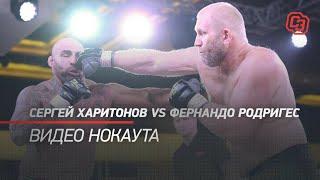 Сергей Харитонов vs Фернандо Родригес. Видео нокаута