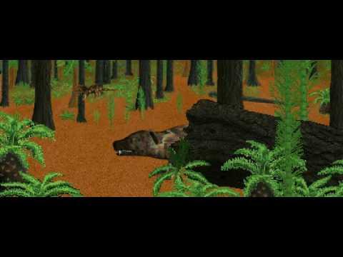 Dinosaur Safari (Late Triassic) Clip #4: Cynonathus