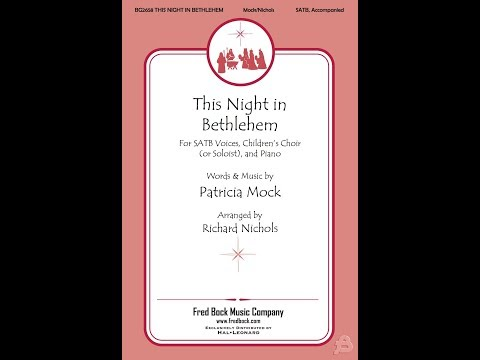 This Night In Bethlehem - by Patricia Mock