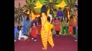 School Girl Hot Funy Dance at Gaye Holud Night