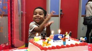 vuclip LJ's 4th Birthday Party at Chuck E Cheese's