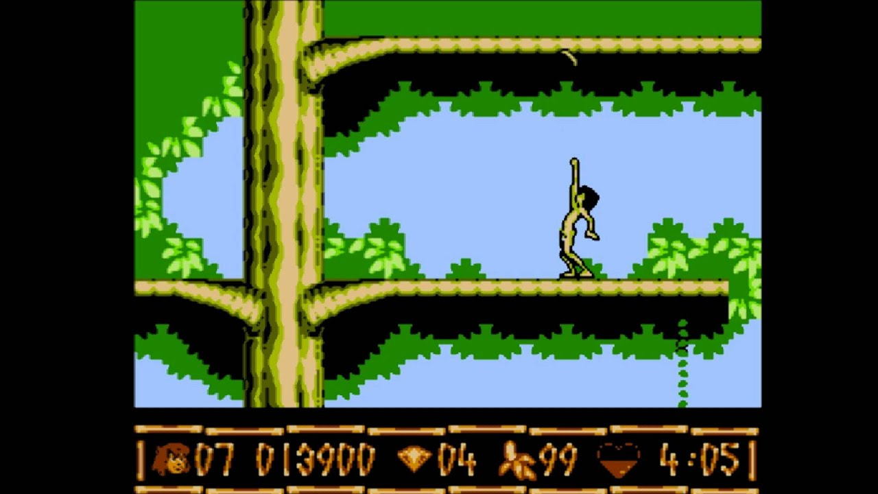 The Jungle Book Nes Game