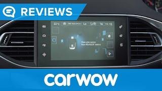 Peugeot 308 2017 Hatchback infotainment and interior reveiw | Mat Watson Reviews